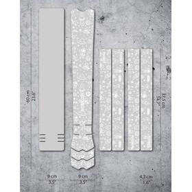 DYEDBRO Space Trip Kit di Protezione del Telaio, trasparente/bianco